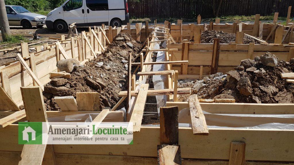 Fundatie casa din lemn 3