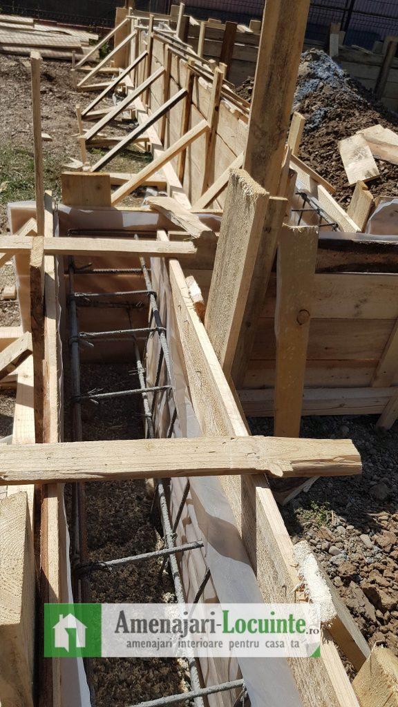 Fundatie casa din lemn 2