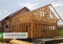 Structura casa din lemn
