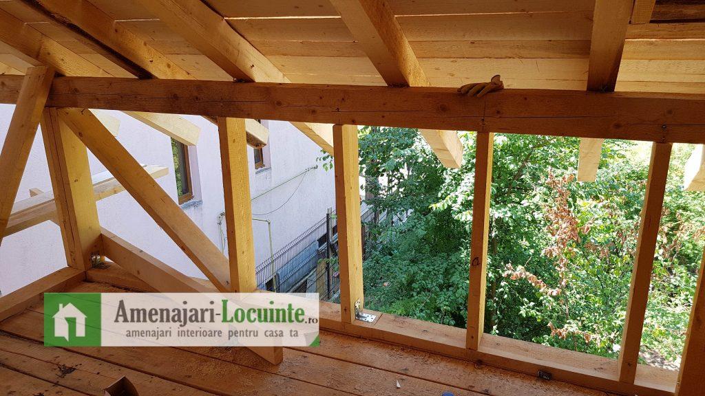 casa din lemn interior 1