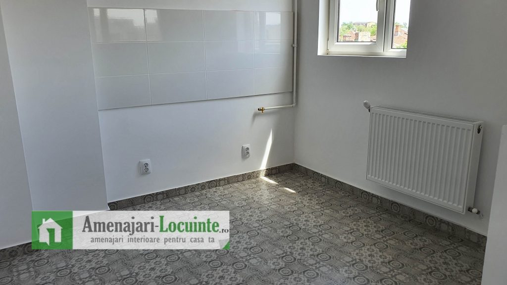 Renovare apartament 2 camere Bucatarie
