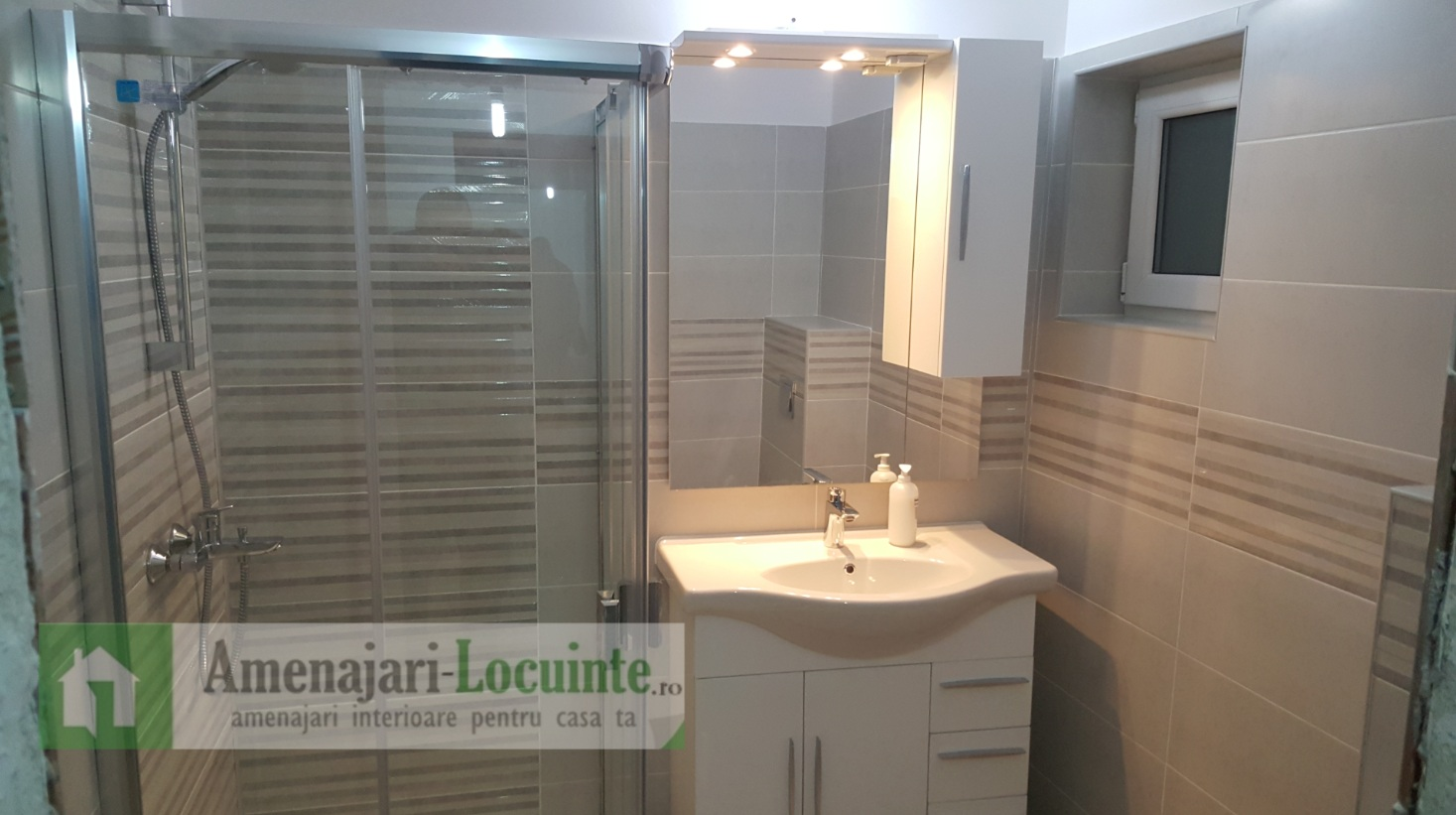 Amenajari interioare - amenajare baie
