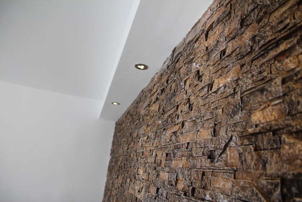 Renovare apartament cu 2 camere in bucuresti - Pietra decorativa per interni ...
